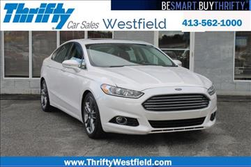 2014 Ford Fusion for sale in Westfield, MA