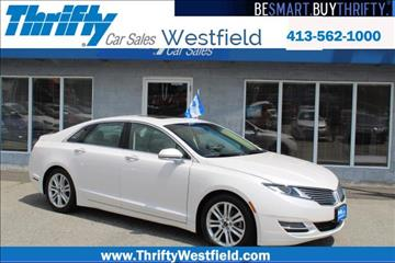 2016 Lincoln MKZ for sale in Westfield, MA
