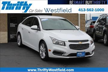 2016 Chevrolet Cruze Limited for sale in Westfield, MA