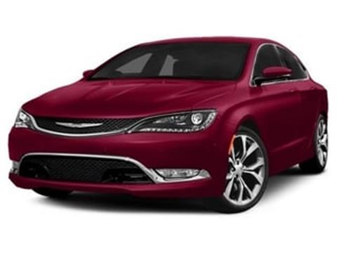 2015 Chrysler 200 for sale in Springfield VT