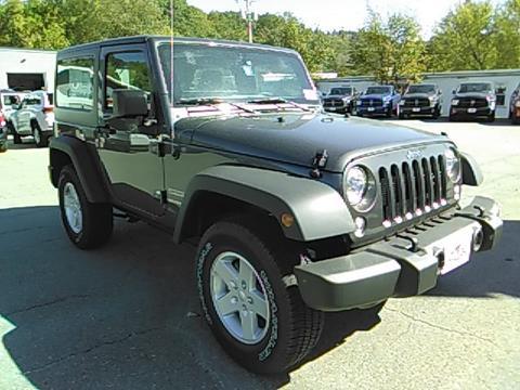 2017 Jeep Wrangler for sale in Springfield, VT