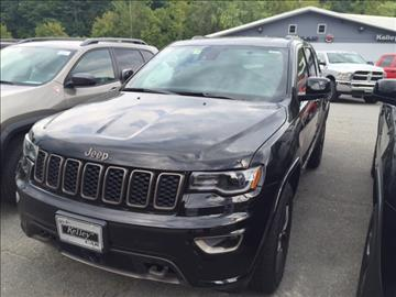 2017 Jeep Grand Cherokee for sale in Springfield, VT