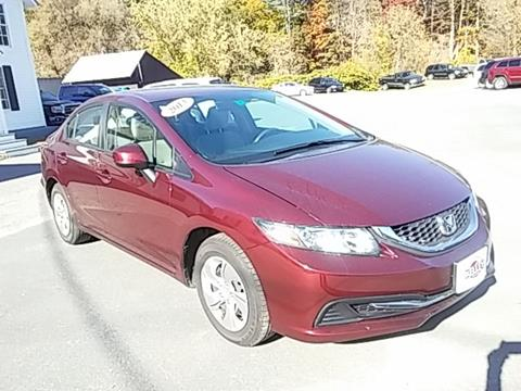 2013 Honda Civic for sale in Springfield VT