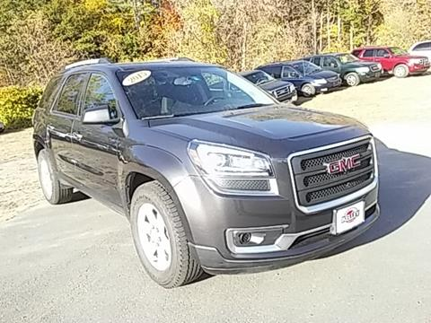 2015 GMC Acadia for sale in Springfield, VT