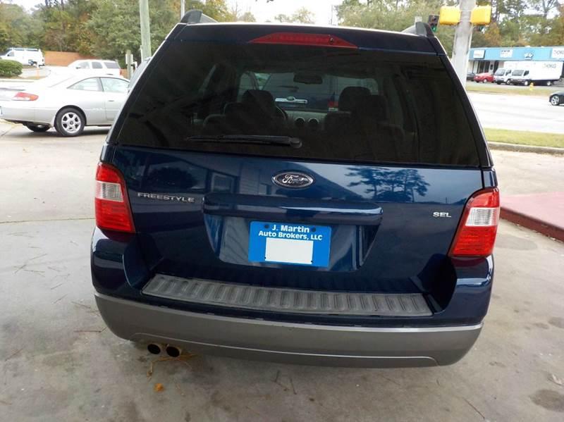 2006 ford freestyle sel 4dr wagon in savannah ga j martin for M m motors savannah ga