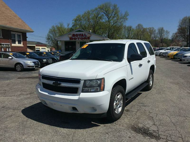 2008 chevrolet tahoe 4x4 lt 4dr suv in louisville ky royal motor sales. Black Bedroom Furniture Sets. Home Design Ideas