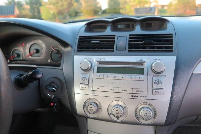 2007 Toyota Camry Solara SE 2dr Coupe (2.4L I4 5A) - Strasburg VA