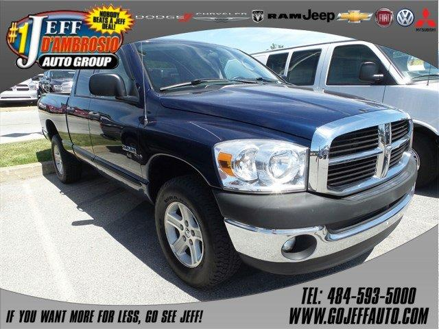 2008 dodge ram pickup 1500 st in downingtown pa jeff d 39 ambrosio auto group. Black Bedroom Furniture Sets. Home Design Ideas