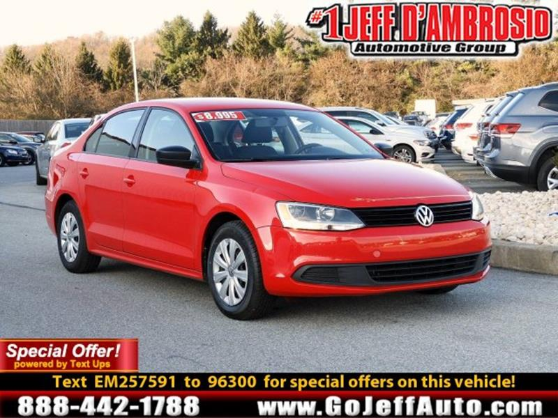 2014 Volkswagen Jetta S 4dr Sedan 6a In Downingtown Pa Jeff D