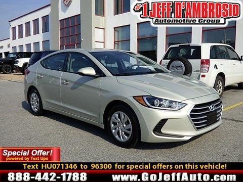 2017 Hyundai Elantra for sale in Downingtown, PA
