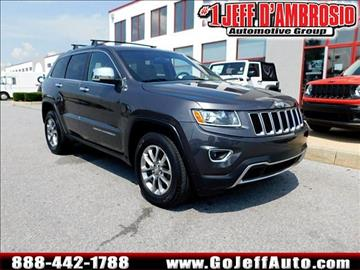 2014 Jeep Grand Cherokee for sale in Downingtown, PA