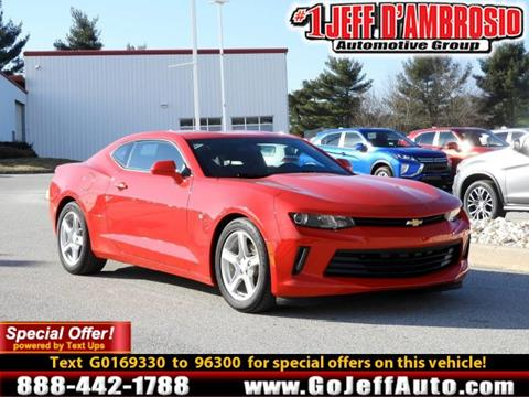 2016 Chevrolet Camaro for sale in Downingtown, PA