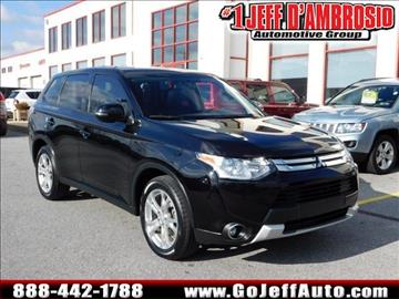 2015 mitsubishi outlander for sale for Main street motors valparaiso in