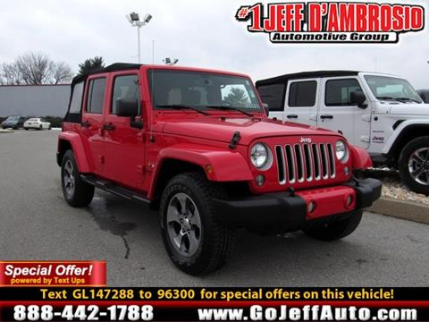 Jeep Cars Financing For Sale Downingtown Jeff D Ambrosio Auto Group