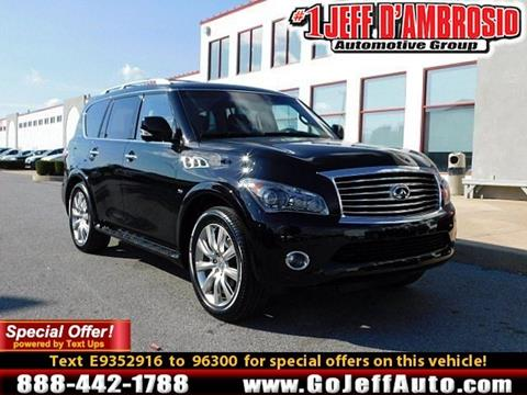 2014 Infiniti QX80 for sale in Downingtown, PA