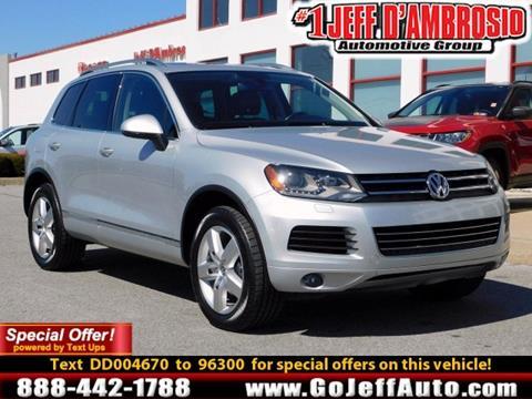 Volkswagen Touareg For Sale in Pennsylvania Carsforsale
