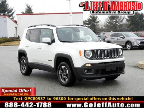 2016 Jeep Renegade for sale in Downingtown, PA