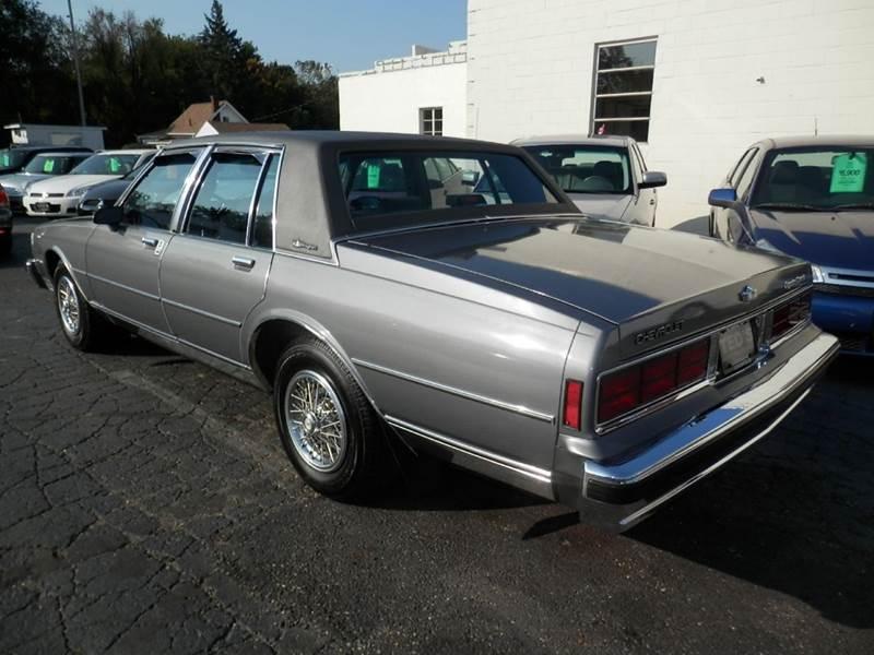 Teds Auto Sales >> 1989 Chevrolet Caprice Classic Brougham 4dr Sedan In ...