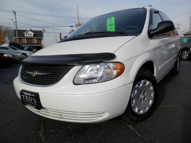 2004 chrysler town and country lx family value 4dr extended mini van in louisville oh ted 39 s. Black Bedroom Furniture Sets. Home Design Ideas