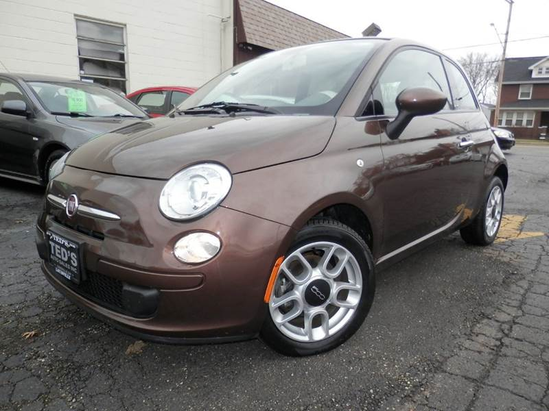 2012 fiat 500c pop 2dr convertible in louisville oh ted 39 s auto sales inc. Black Bedroom Furniture Sets. Home Design Ideas