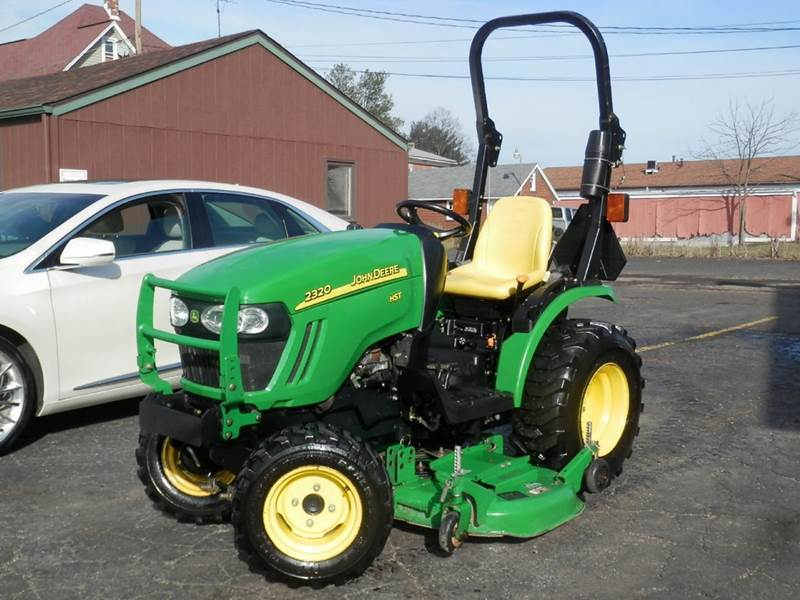 Teds Auto Sales >> 2008 John Deere 2320 Hst TRACTOR In Louisville OH - Ted's ...