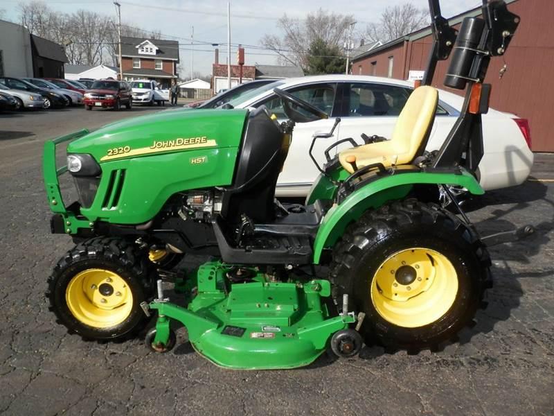 Jd 2320 Mower Adj : John deere hst tractor in louisville oh ted s