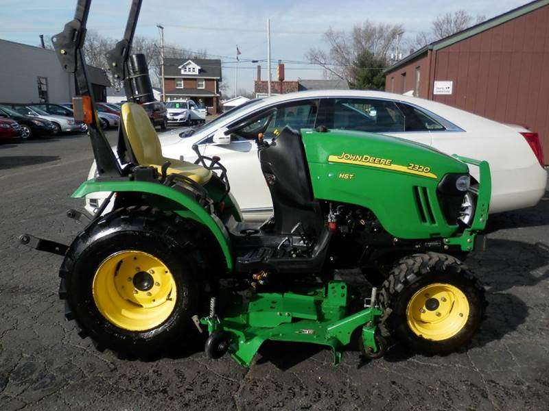2008 john deere 2320 hst tractor in louisville oh ted 39 s. Black Bedroom Furniture Sets. Home Design Ideas