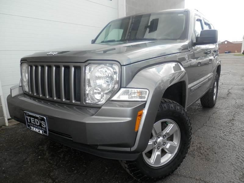 2012 Jeep Liberty 4x4 Sport 4dr Suv In Louisville Oh Ted