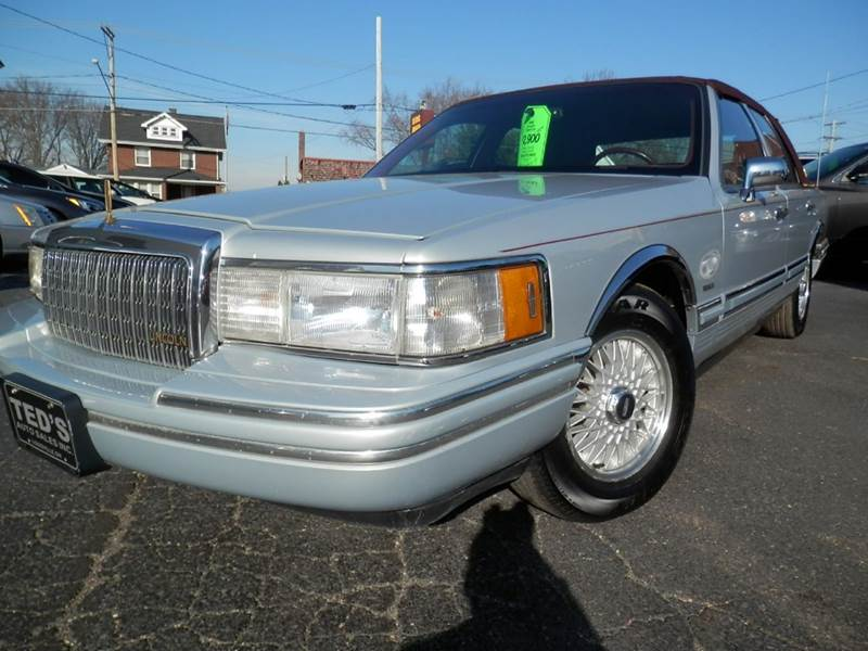 1994 Lincoln Town Car For Sale - Carsforsale.com