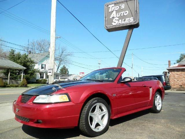 2000 Ford Mustang Gt 2dr Convertible In Louisville Oh