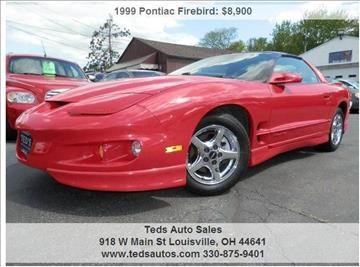 1999 Pontiac Firebird for sale in Louisville, OH