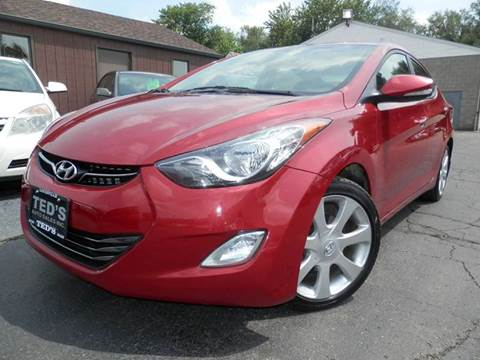 2013 Hyundai Elantra for sale in Louisville, OH