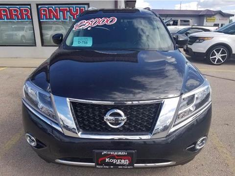 2016 Nissan Pathfinder for sale in Rapid City SD