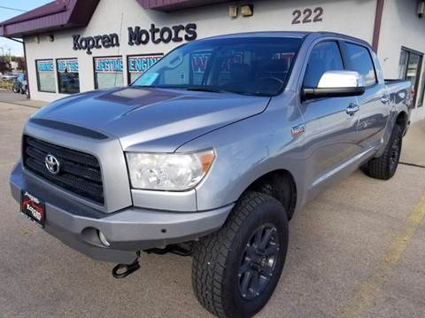 2008 Toyota Tundra for sale in Rapid City SD