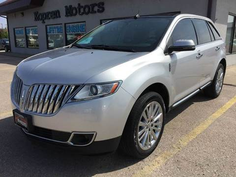 2012 Lincoln MKX for sale in Rapid City, SD