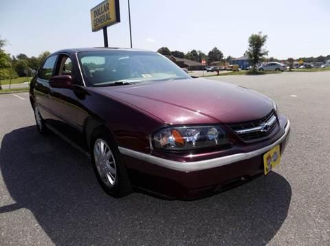 2003 Chevrolet Impala for sale in Spotsylvania, VA