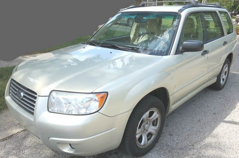2007 Subaru Forester AWD 2.5 X 4dr Wagon (2.5L F4 4A) - Indianapolis IN