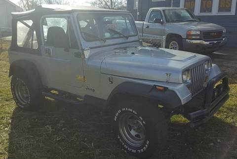 1987 Jeep Wrangler For Sale