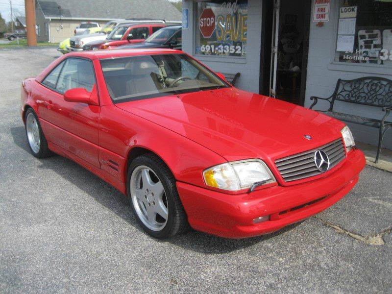 2000 Mercedes-Benz SL-Class SL 500 2dr Convertible - Knoxville TN