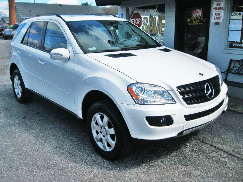 2006 mercedes benz m class awd ml 350 4matic 4dr suv in for Mercedes benz knoxville