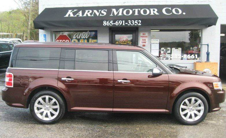 2010 Ford Flex AWD Limited 4dr Crossover - Knoxville TN