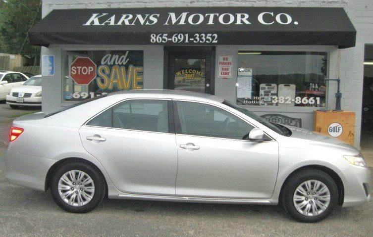 2014 Toyota Camry LE 4dr Sedan - Knoxville TN