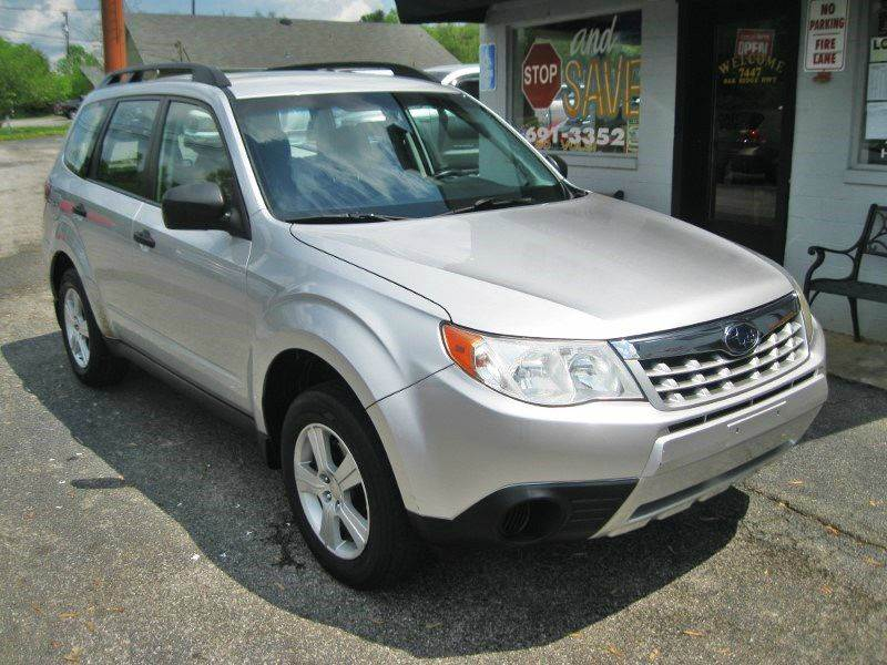 2011 Subaru Forester 2.5X AWD 4dr Wagon 5M - Knoxville TN