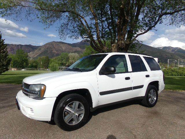 2005 chevrolet trailblazer ls 4wd 4dr suv in ogden eden. Black Bedroom Furniture Sets. Home Design Ideas