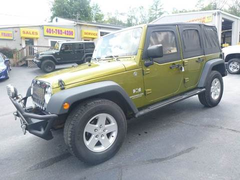 2008 jeep wrangler unlimited for sale in north smithfield ri. Cars Review. Best American Auto & Cars Review