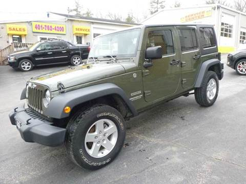 2015 Jeep Wrangler For Sale Carsforsale Com