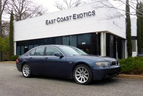 2003 BMW 7 Series for sale in Yorktown, VA