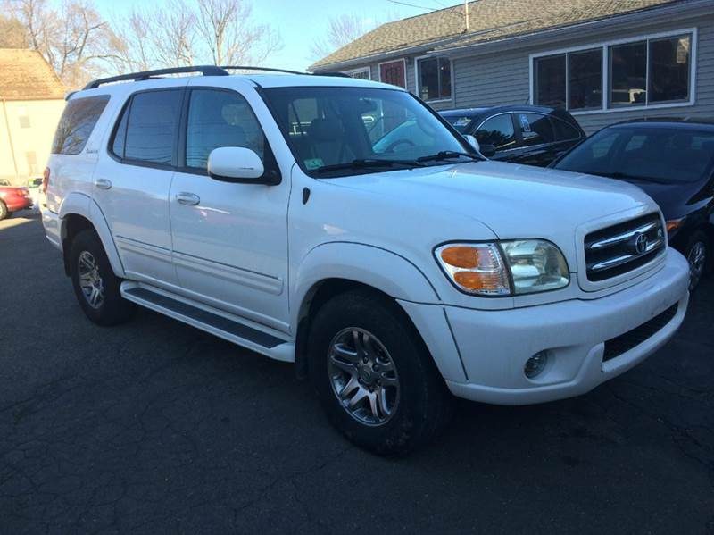 2003 toyota sequoia limited 4wd 4dr suv in agawam ma falcor auto sales. Black Bedroom Furniture Sets. Home Design Ideas