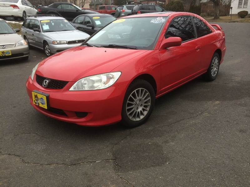 2005 honda civic ex special edition 2dr coupe in agawam ma. Black Bedroom Furniture Sets. Home Design Ideas
