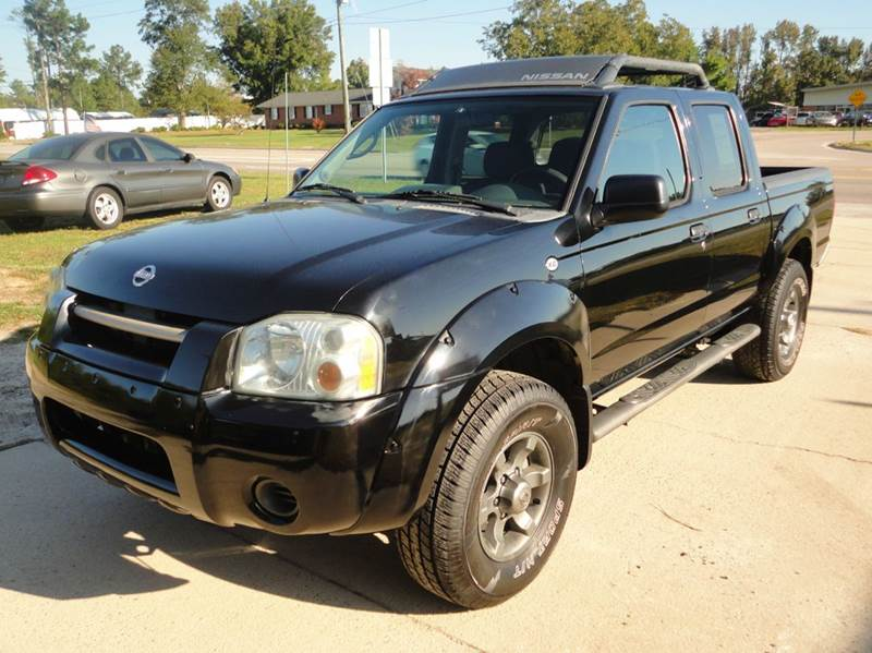 2004 nissan frontier 4dr crew cab xe v6 rwd sb in sanford nc majestic auto sales. Black Bedroom Furniture Sets. Home Design Ideas